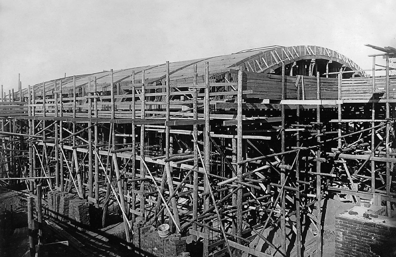 Строительство литейного цеха ЗиЛа