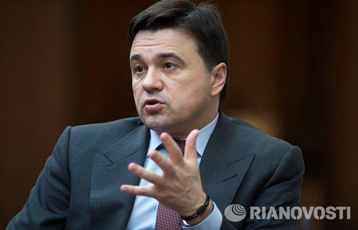 Интервью с губернатором Московской области А.Воробьёвым
