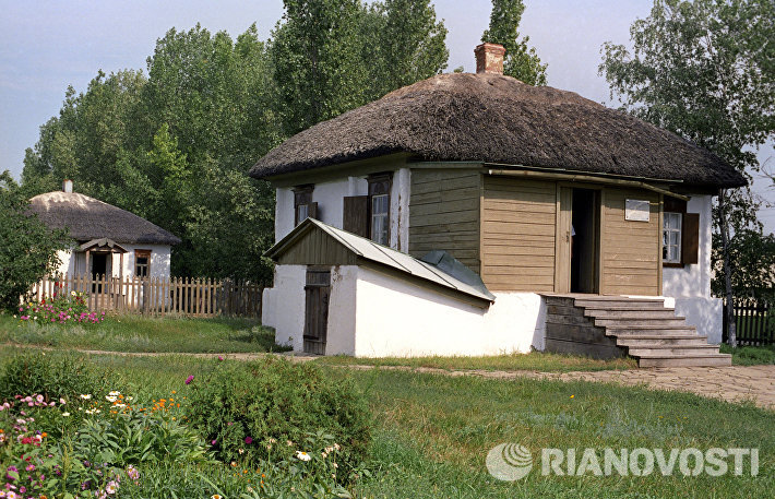 Дом, в котором родился писатель Михаил Шолохов