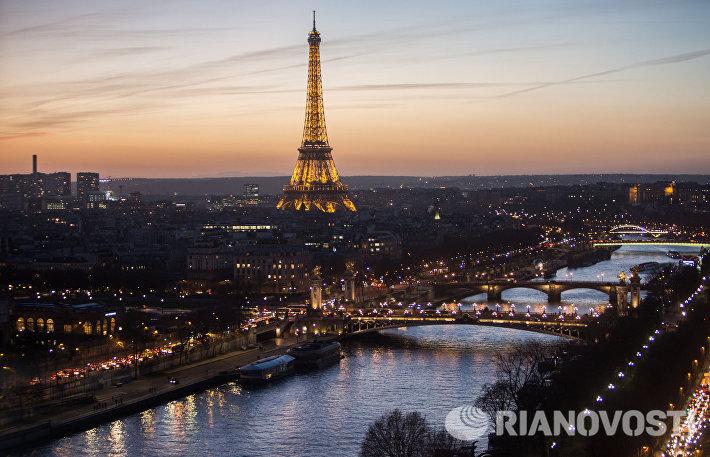 Предновогодний Париж