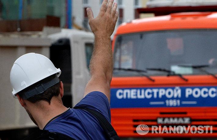 Строительство Президентского кадетского училищаво Владивостоке