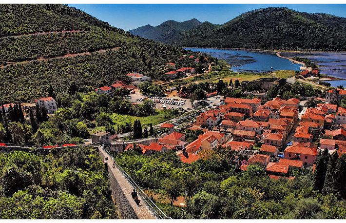 Город Стон в Хорватии