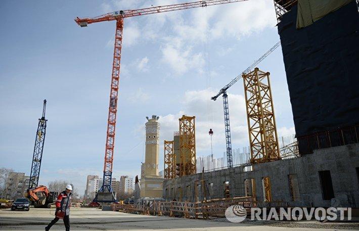 Реконструкция стадиона Екатеринбург Арена