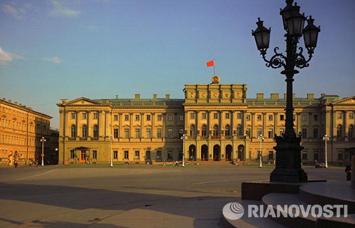 Мариинский дворец (ныне место заседаний Законодательного собрания Санкт-Петербурга)