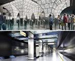 Проект станции Новопеределкино