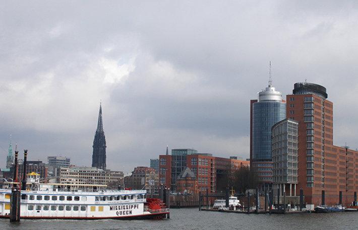 Гамбургская гавань