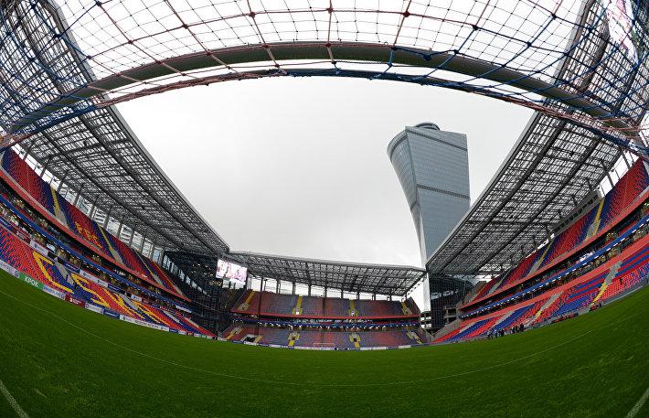 Арена ЦСКА готовится к открытию