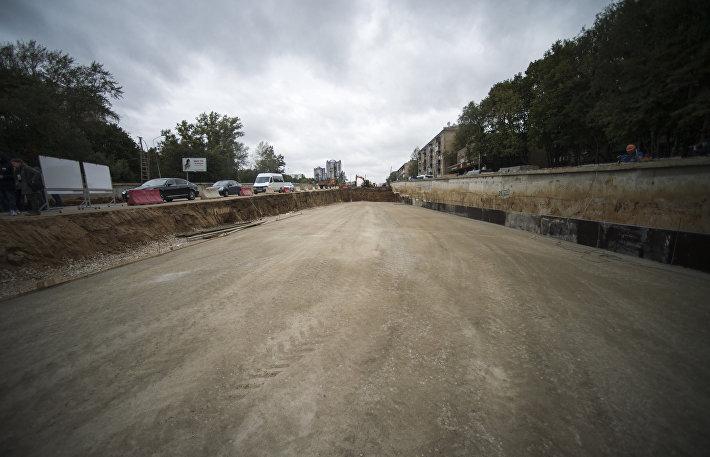 Строительство южного участка Северо-Западной хорды