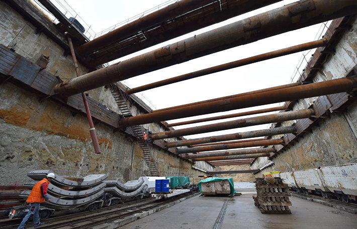 Строительство станции метро Косино-Ухтомская