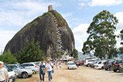 Эль-Пеньон-де-Гуатапе в Колумбии
