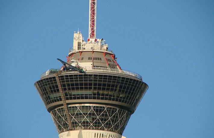 Верхушка башни Стратосфера