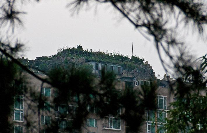 Горная вилла на крыше 26-этажного дома в Пекине