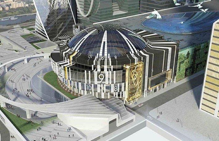 Проект концертного зала в Москва-Сити