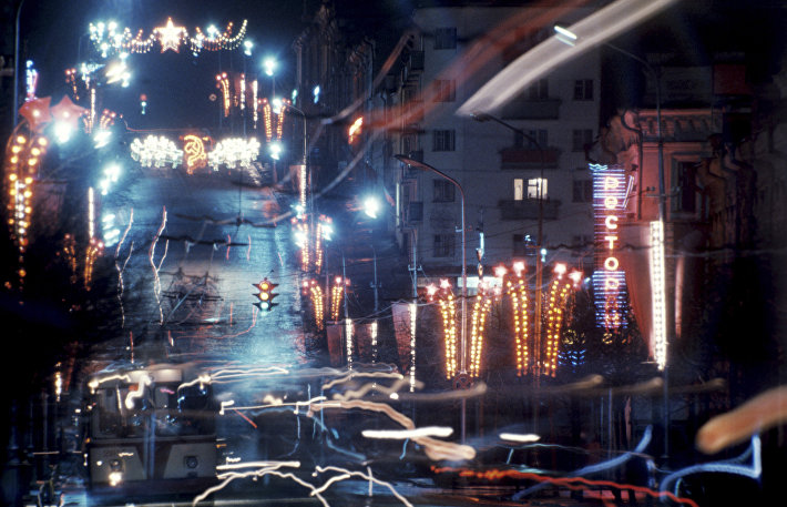 Праздничная иллюминация в городе Пензе