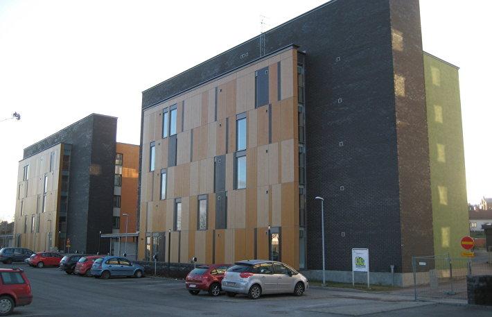 Один из многофункциональных комплексов Хельсинки