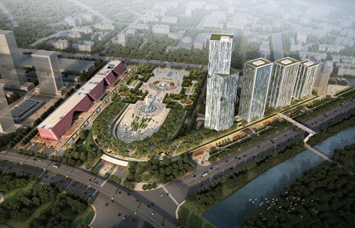 Проект небоскребов VANKE KYUSHU в городе Шэньчжэнь, Китай