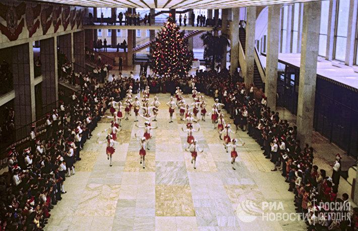 На Новогодней елке в Кремле