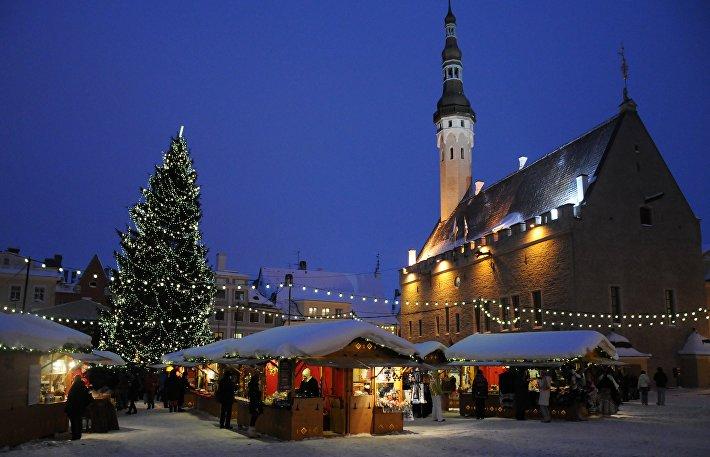 Таллиннский рождественский рынок