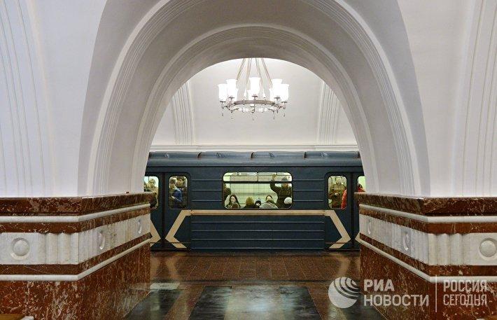 Открытие станция метро Фрунзенская