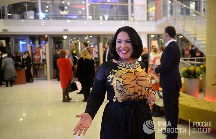 Открытие здания музыкального театра фольклора Русская песня