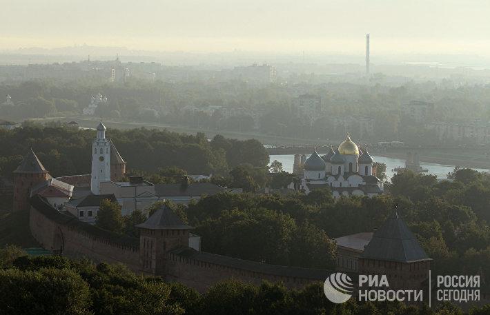 Города России. Великий Новгород