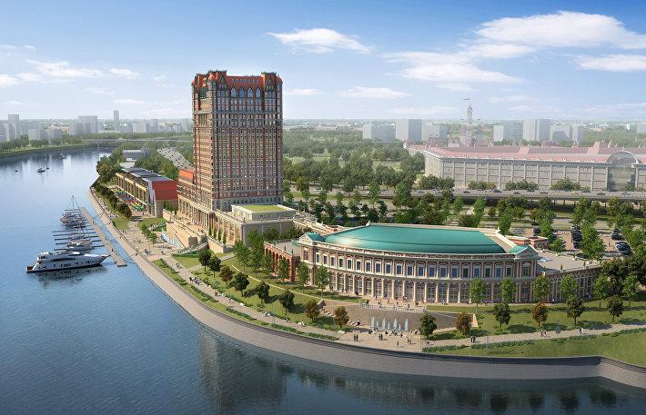 Тематический парк Остров мечты в Москве