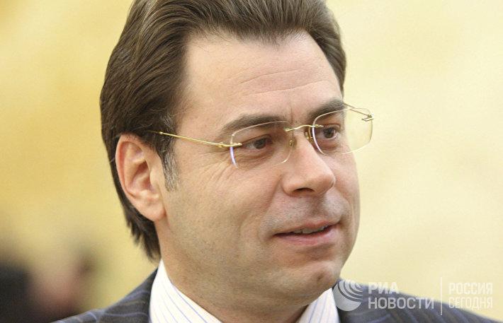 Заместитель мэра Москвы по СМИ и спорту Александр Горбенко