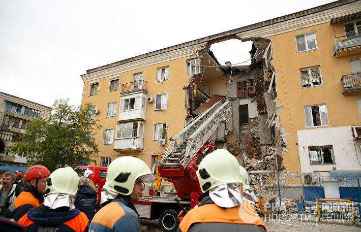 Взрыв бытового газа в жилом доме в Волгограде