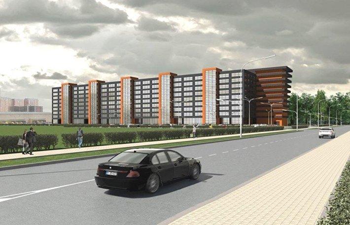 Проект многофункционального делового комплекса в новой Москве