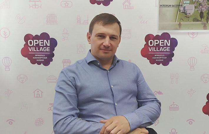 Генеральный директор ярмарки Open Village Владислав Копица