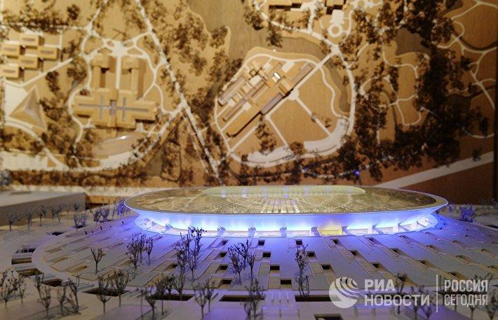 Проект стадиона в Нижнем Новгороде для проведения Чемпионата мира по футболу 2018 года