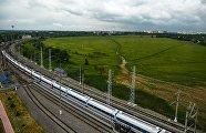 Испытания нового пассажирского поезда Тальго