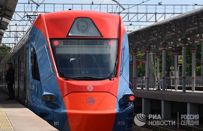Открытие ТПУ Солнечная и презентация поезда Иволга