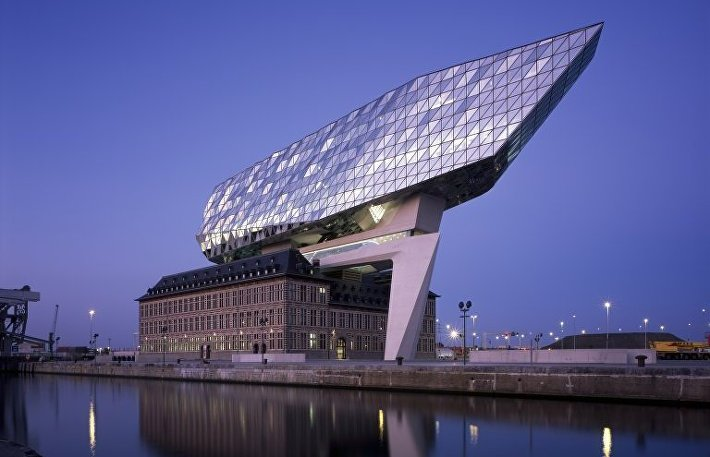 Проект-порт в Антверпене (Бельгия)