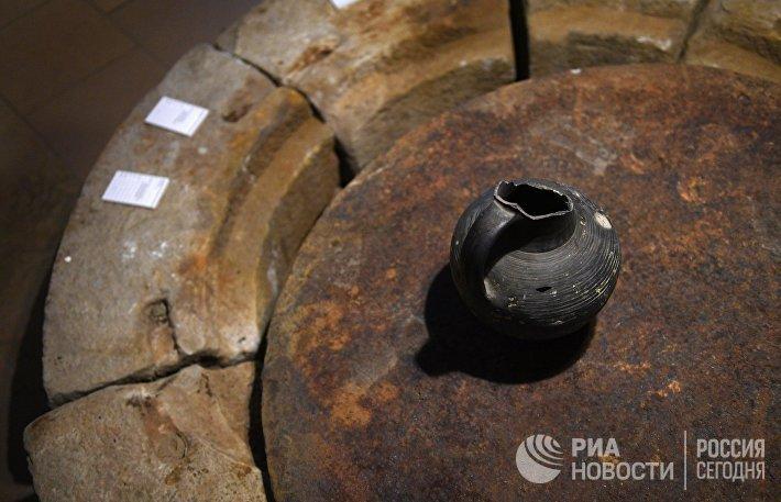 Открытие выставки Тайны московских подземелий
